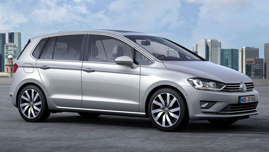 plusreview volkswagen golf sportsvan plusonline. Black Bedroom Furniture Sets. Home Design Ideas